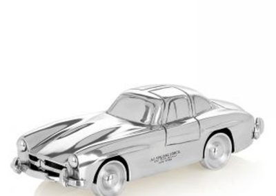 Auto Tedesca in alluminio 25X9X7CM